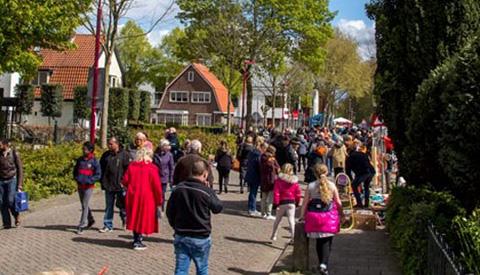 Koningsdag in Vreeswijk en Nieuwegein Noord