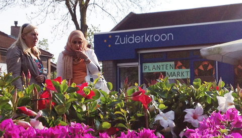 Plantenmarkt Jenaplanschool De Zuiderkroon