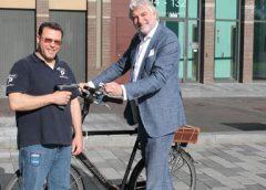 Digitaal in- en uitchecken bij de openbare fietsenstallingen in Nieuwegein