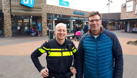 'Koffie met een Cop' in de wijk