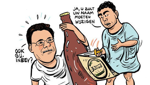 PENTekening: 'Julius is geen Julius meer'