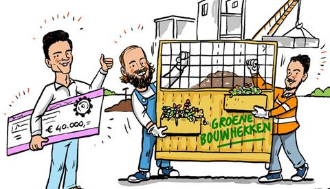 PENTekening: 'Groene Bouwhekken'