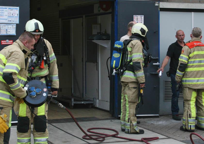 Brandje Bij De Lidl Op Winkelcentrum Muntplein De Digitale Stad