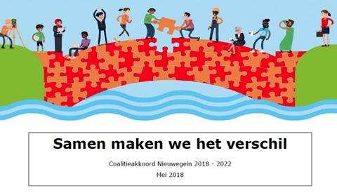 Coalitieakkoord Nieuwegein: 'Samen maken we het verschil' zet in op een veerkrachtige samenleving
