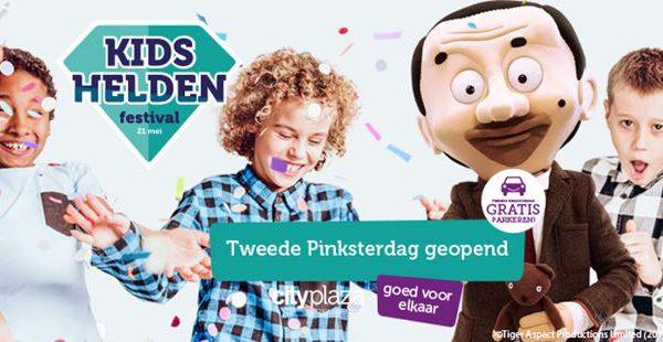 Kidshelden Festival op Cityplaza