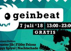 Geinbeat programma voor 7 juli 2018 bekend