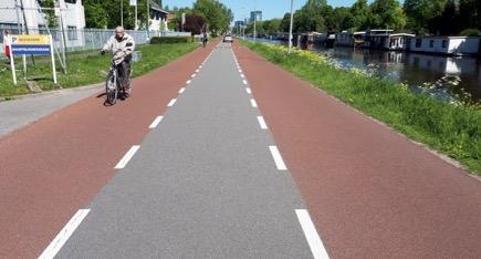 Fietsersbond Nieuwegein: 'Meer rood op straat bij herinrichting IJsselsteinseweg'
