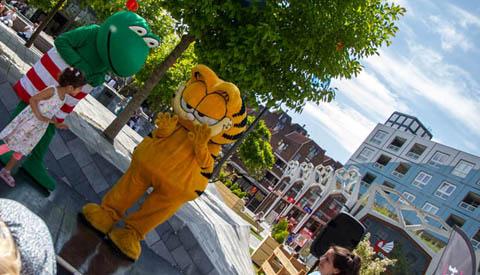 Geslaagde Kidshelden Festival op Cityplaza