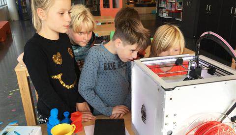Filmen en 3D-printen in de Media Makerspace