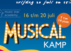 Doe mee met de jaarlijkse Mini-Musicalkamp en schrijf je in!