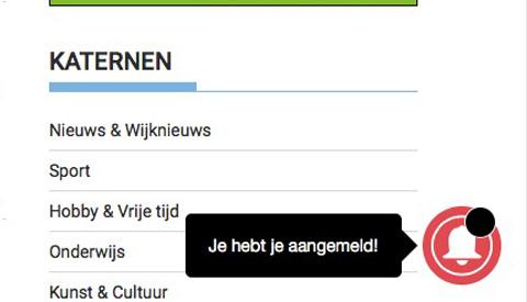10.000ste 'One Signal' abonnee op pen.nl