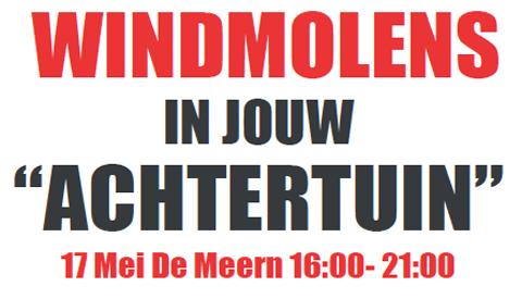 Buren van Rijnenburg buitengesloten bij inloopbijeenkomst over windmolens in polder Rijnenburg