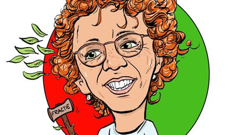PENTekening: 'Monique de Beer nieuwe fractievoorzitter voor GroenLinks Nieuwegein'