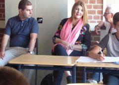 Delegatie uit Brazilië bezoekt 'De Linie' in Nieuwegein