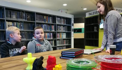 Media Makerspace in de bibliotheek: 3D-printen en vakantiefoto's maken