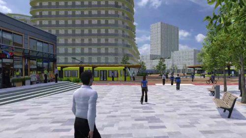 Ontwerpbestemmingsplan maakt nieuw Stationsgebied City mogelijk