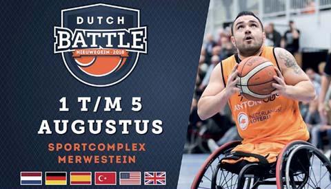 Internationale rolstoelbasketballers actief in Merwestein