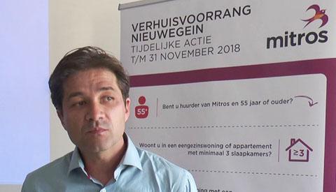 Huurderscafé Mitros over 'verhuisvoorrang 55+'