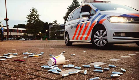 Politie Nieuwegein vraagt burgers attent te zijn bij gebruik lachgas patronen