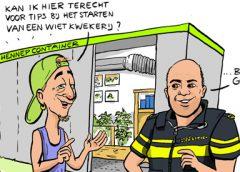 PENTekening: 'Start je eigen hennepplantage ………….. of niet'