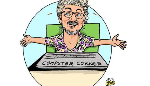 PENTekening: 'Wilko's Computer Corner'