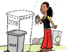 PENTekening: 'Nieuwegein goed in het recyclen van PMD'