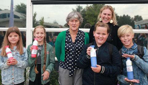 Start 2e afvalvrije school in Nieuwegein