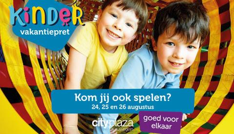 Kindervakantiepret op Cityplaza
