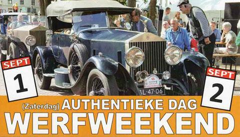 Werfweekend bij Museumwerf Vreeswijk op 1 en 2 september