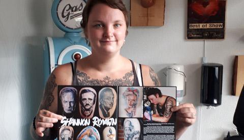 Nieuwegeinse wint weer diverse prestigieuze prijzen met haar tatoeëer kunst