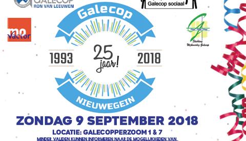 Wijkfeest Galecop 25 jaar!