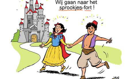 PENTekening: 'Fort Vreeswijk worden omgetoverd tot 'SprookjesFort'