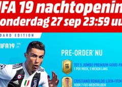 Speciale nachtopening FIFA 19 bij MediaMarkt Nieuwegein