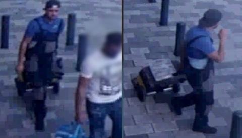 Gewelddadige inbreker gezocht van inbraak aan de Lantaarnstede