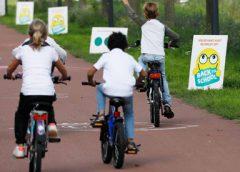 Fietsersbond laat ouders een fietsbelofte doen