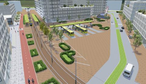 City Nieuwegein: modern knooppunt voor bus en tram