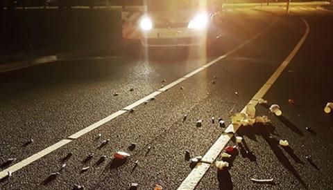 Politie Nieuwegein boos over lachgaspatronen op de weg