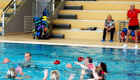 Speciallympics Zwemmen in Merwestein