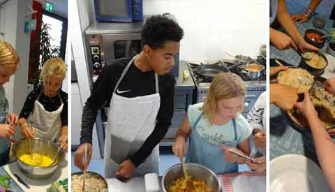 Tweede ronde workshops internationaal koken voor tieners