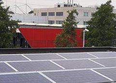 160 zonnepanelen op dak bij Vockingworst