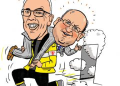PENTekening: 'Burgemeester Frans Backhuijs gered'