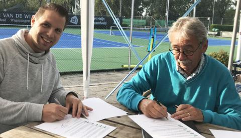 Peter Paul Schrauwen nieuwe hoofdtrainer bij Tennisvereniging Vreeswijk
