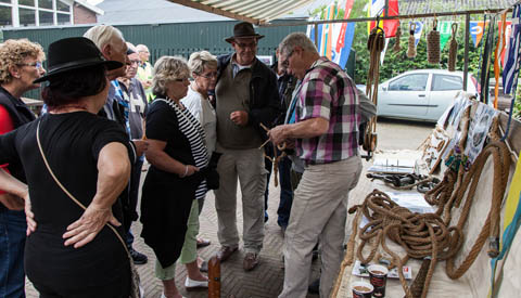 Nieuw bij Museumwerf Vreeswijk: Cursus traditioneel knopen en splitsen van touw en staaldraad