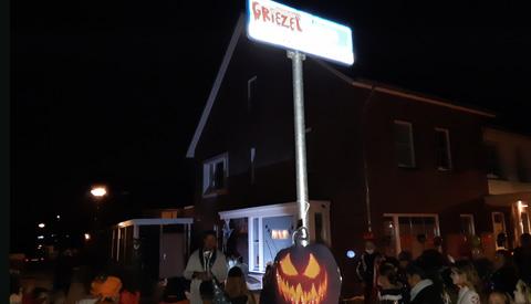 Geslaagde Halloweenviering op De Vlierhoeve in de Blokhoeve