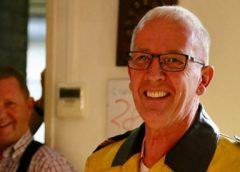 Postcommandant Jan van den Berg neemt afscheid van de brandweer