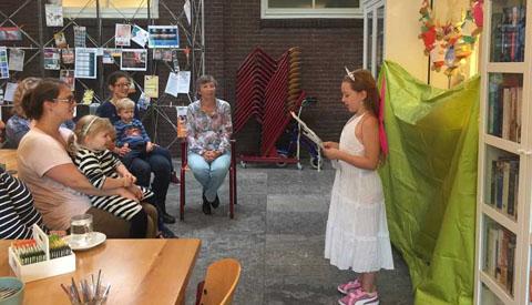 Opening Kinderboekenkast Dorpshuis Fort Vreeswijk