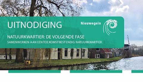 Tweede inloopbijeenkomst 'Doorontwikkeling Natuurkwartier'