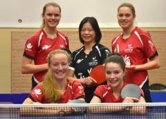 Halve finale dames eredivisie VTV/Jinbu Europe – TTV Lybrae Heerlen