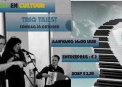 Soep & Cultuur met: Trio Triest