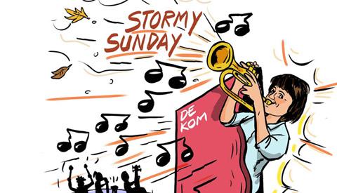 PENTekening: 'Stormy Sunday'
